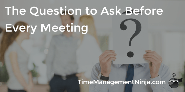 Question Before Meeting
