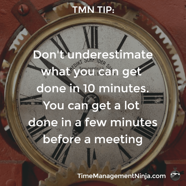 What Can You Do in 10 Minutes?