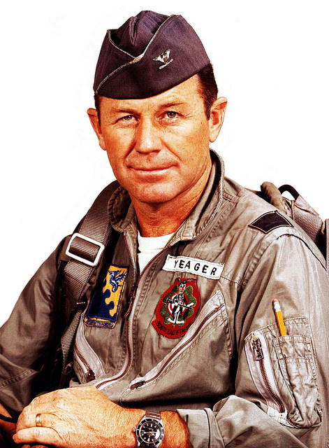 Chuck Yeager - actual hero