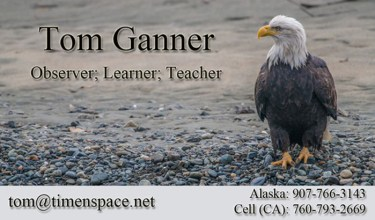 T Ganner Photography, photographer, photography, guide, workshop, wildlife photography, vacation, travel, photo graphic art, haines, ak