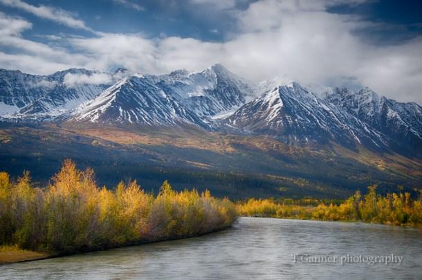 Alaska, autumn, Alaska autumn,, foliage, Alaskan Highway, Alcan Highway, Kluane, Yukon, Haines Highway