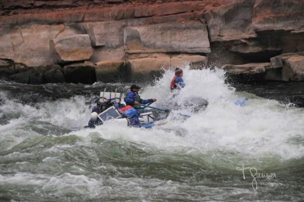 Grand Canyon, Colorado River, rafting, rapids, House Rock