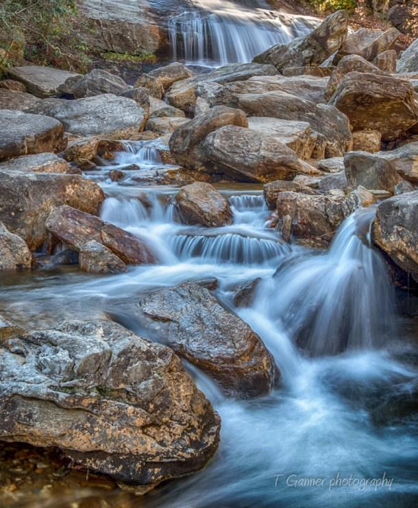 North Carolina, Brevard, Connestee Falls, autumn, foliage, waterfall, Blue Ridge Parkway, Graveyard Fields