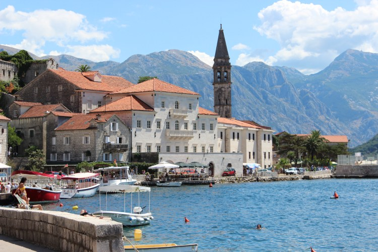 Perast in the Bay of Kotor