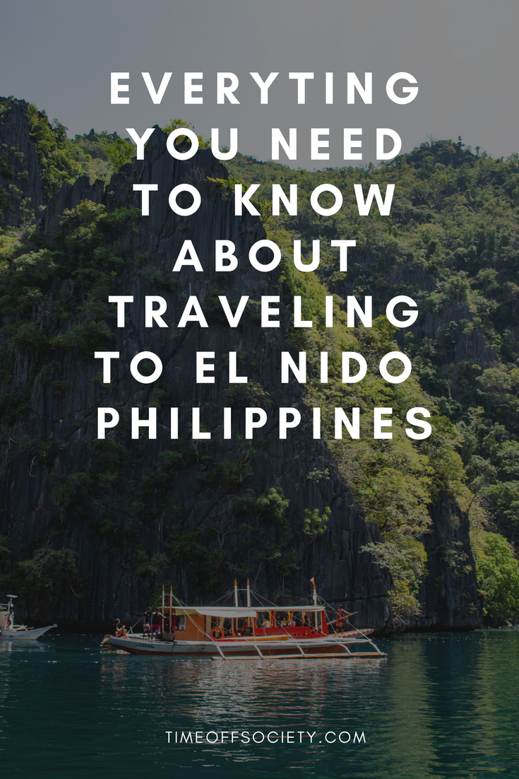 Everyting you need to know about traveling to El Nido Palawan