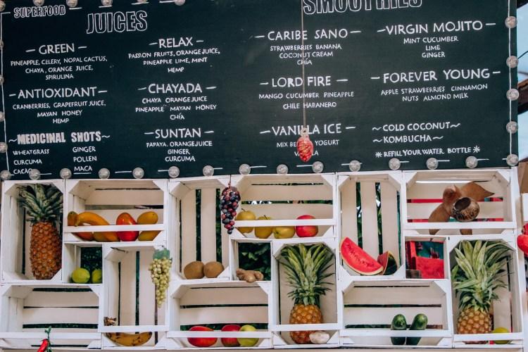 Food in Tulum