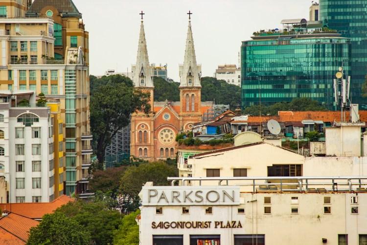 Notre Dame Curch in Saigon