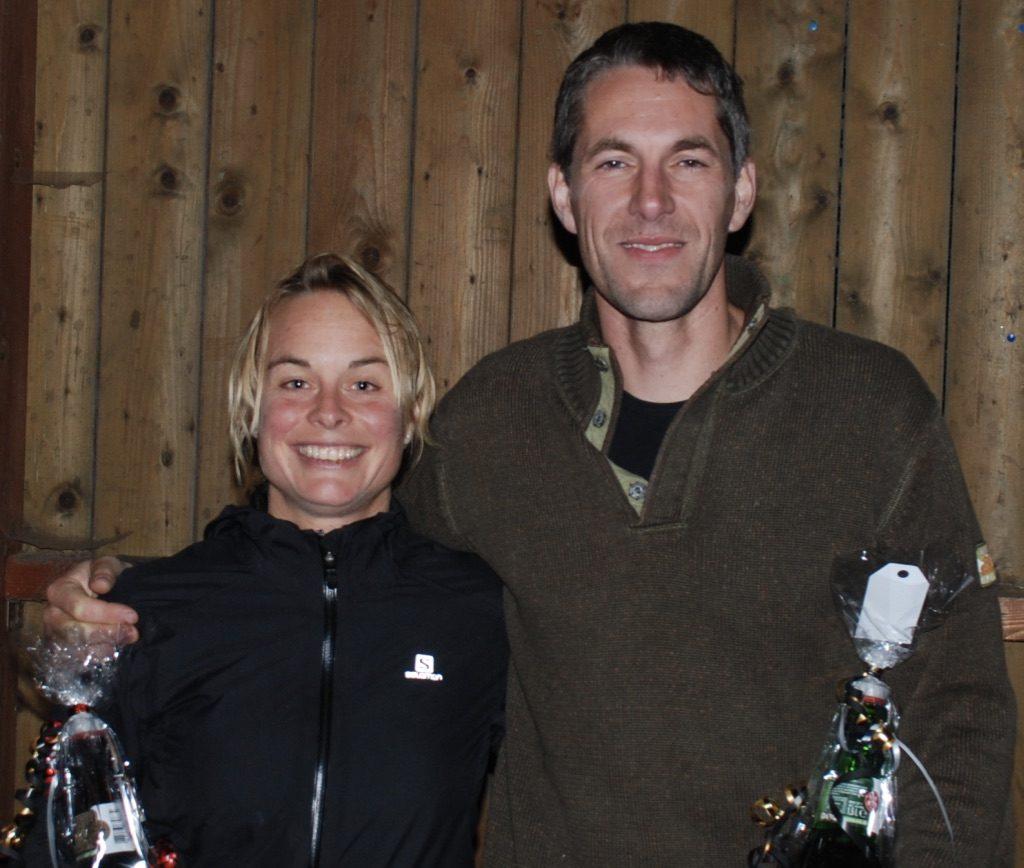 De winnaars:Inga en Patrick