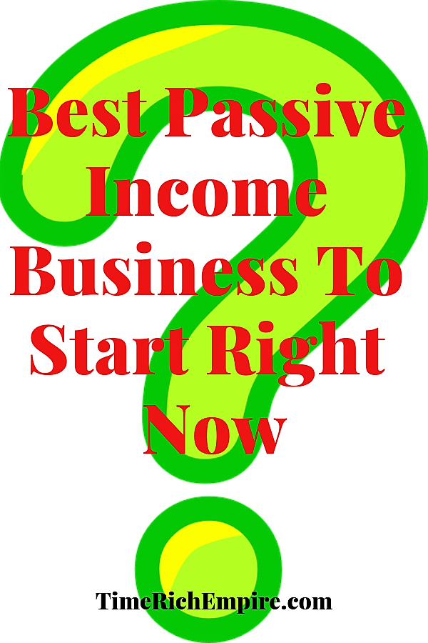 Time Rich Empire Best Passive Income Business To Start Right Now
