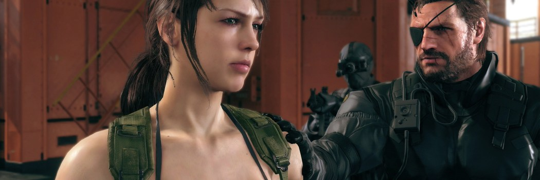 Metal Gear Solid 5 The Phantom Pain Unboxing
