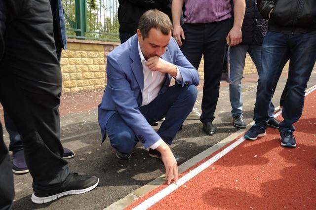Андрей Павелко провел выездное совещание на стадионе «Трудовые резервы»