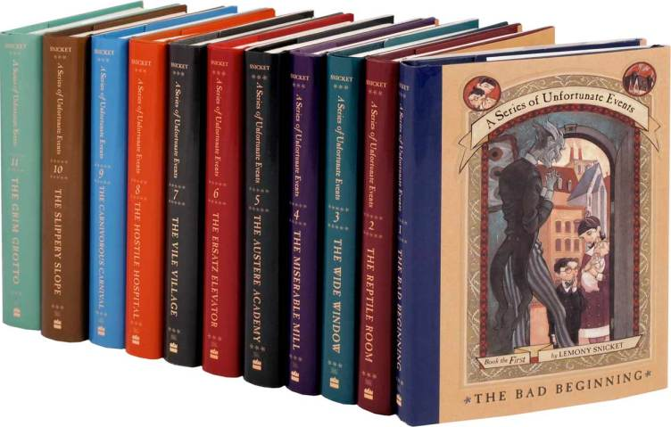 "Lemon Snicket's ""A Series of Unfortunate Events"" is not my life story, but there are days when it feels like it is."