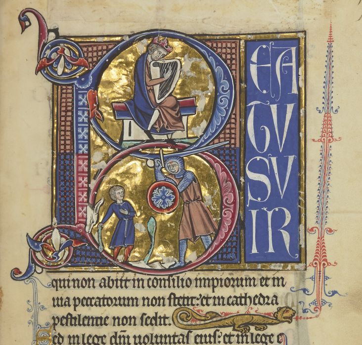 Bibliothèque nationale de France, Département des manuscrits, Latin 10434, fol. 17r.