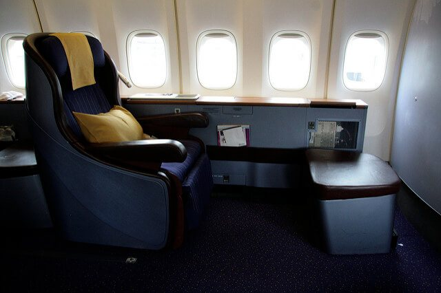 Fly First Class for Honeymoons