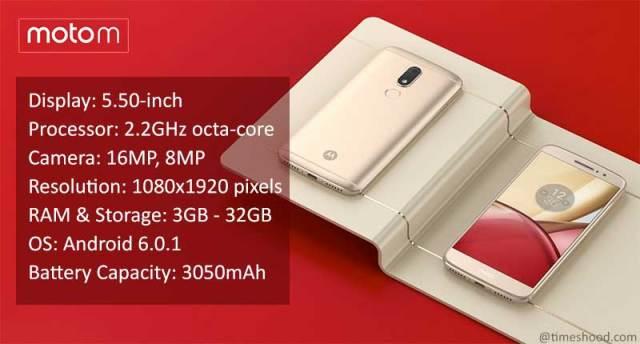 Moto M Smartphone