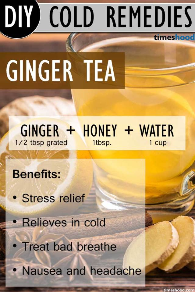 Ginger Tea for get rid of common cold. Ginger tea recipe to get rid of common cold. Benefits of ginger tea and how to make. Natural common cold remedies how to get rid