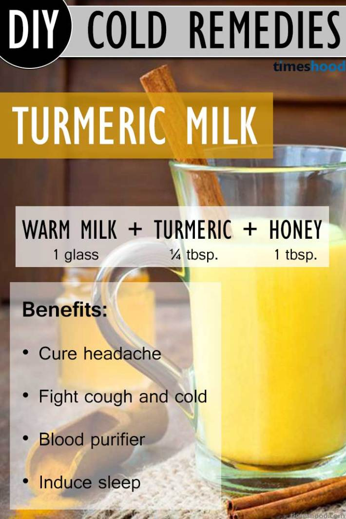 Drink Turmeric Milk to Get Rid Of Common Cold. Turmeric Milk recipe, and benefits of drinking Turmeric Milk during common cold. One of the effective way to get rid of common cold very fast. Natural common cold remedies how to get rid.