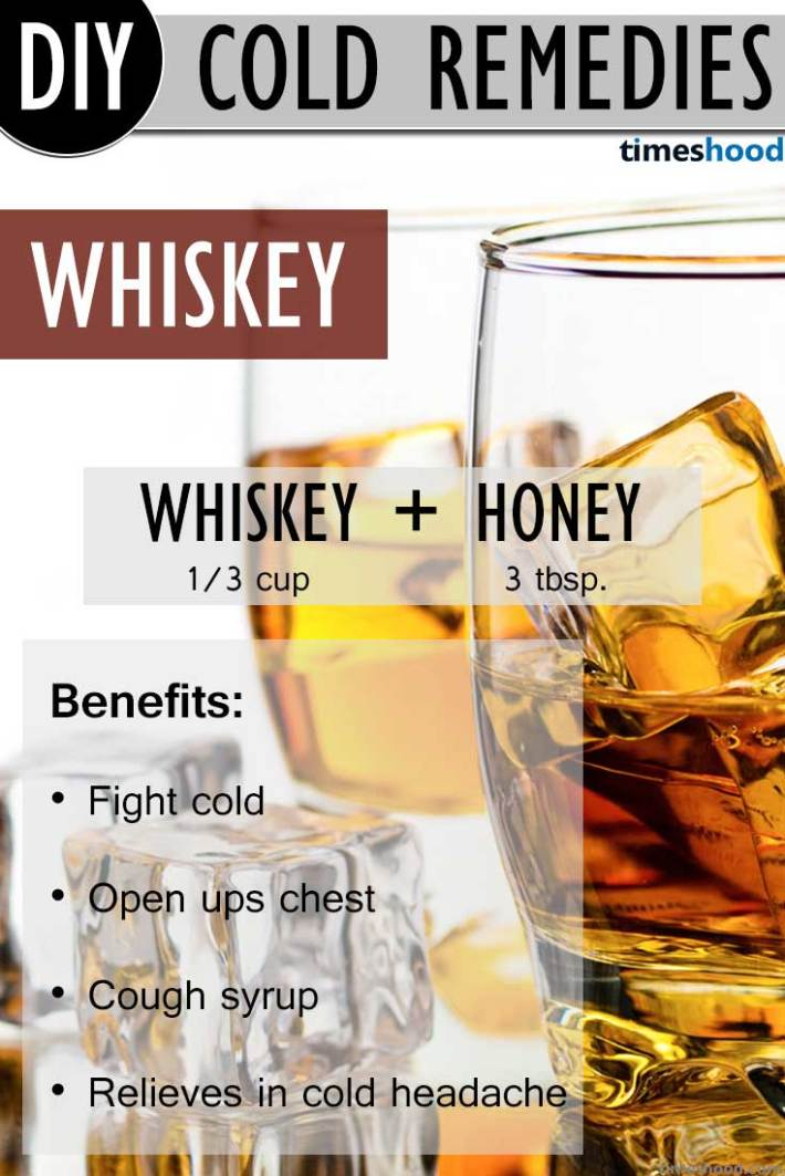 Drink Whiskey to get rid of common cold. Fantastic remedy to get rid of all kind of cold and cough. Natural common cold remedies how to get rid.