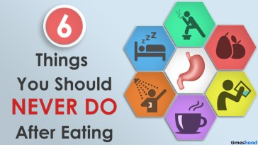 6 Things never do after eating [Infographic]