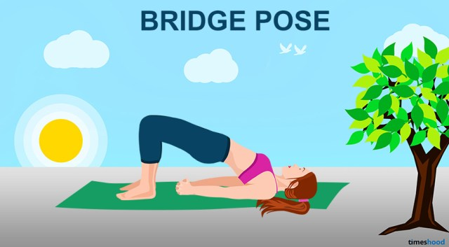 Bridge Pose - Yoga for Neck and Back Pain