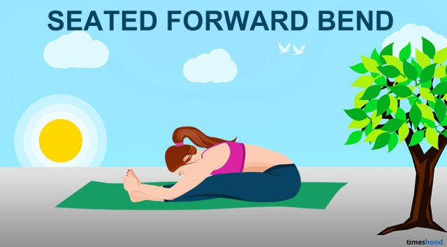 Seated Forward Bend Pose - Yoga for Neck and Back Pain