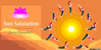 Surya Namaskar or Sun Salutation Yoga Pose Step by step guide with benefits