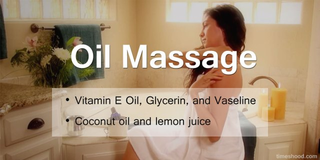 Oil massage before bath - 8 Skincare before bath
