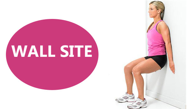 Wall Site - 10 effective fat burn evening workout.