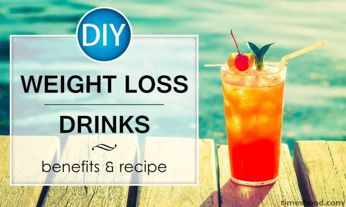 Perte de poids bricolage boissons