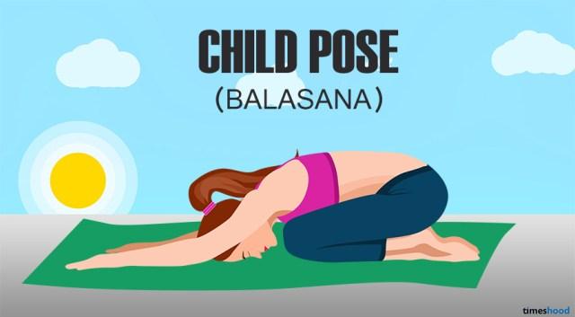 Balasana: Child Pose