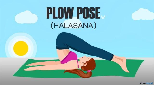Halasana: Plow Pose