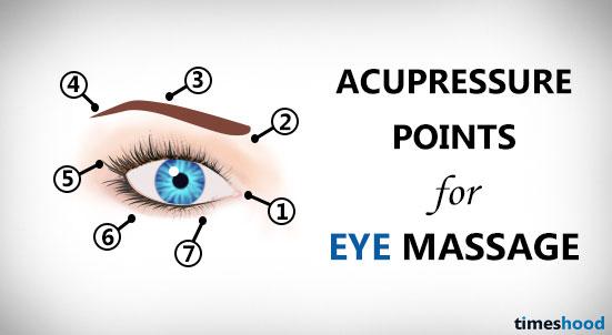 How to massage your eyes to improve eyesight. Eye exercises to improve vision.