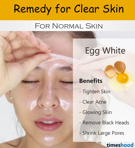 Egg White For Face Pack Clear Skin