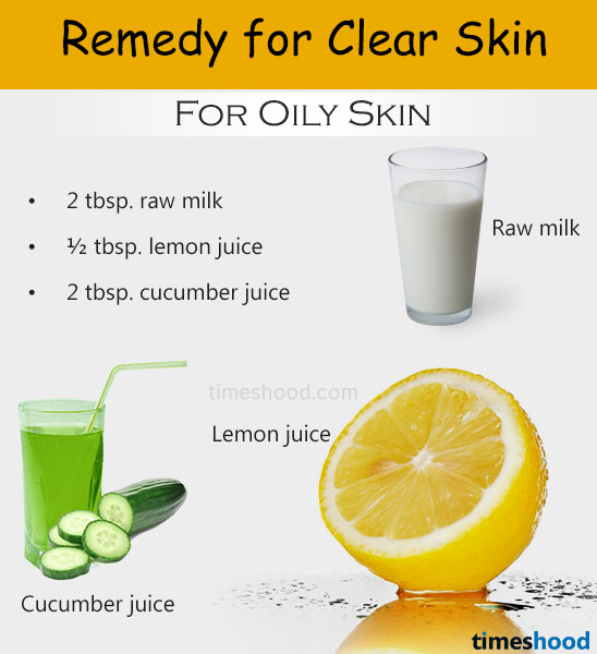Raw milk, cucumber and lemon juice face mask for clear skin. Cucumber for skin, cucumber for acne, cucumber for oily skin. Beauty tips to get clear skin at home? Home remedies for clear skin.