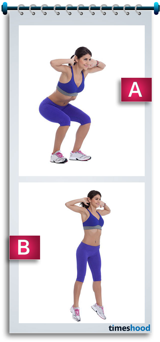 If you want to make you butt sexy and hot at home, then try this squat jump workout and sequence to make it work for you. 4 week workout challenge for bigger butt, toned thigh and sexy legs will not only uplift your butt but also toned your lower body to make you look sexy and hot.