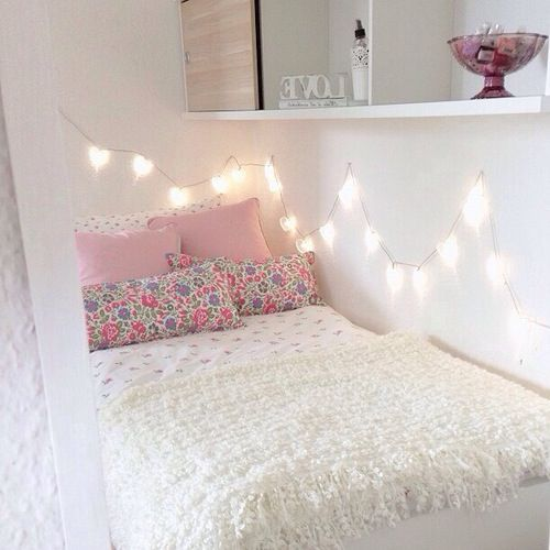 Decor Bedroom Of Your Girl Child To Make It Look Beautiful And Simple.  Little Girl