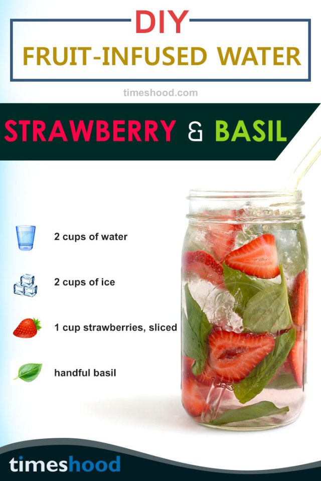 Want to have clear and glowing skin with slim fit body? Then try this delicious strawberry basil infused water recipes. 6 DIY Detox water recipes.