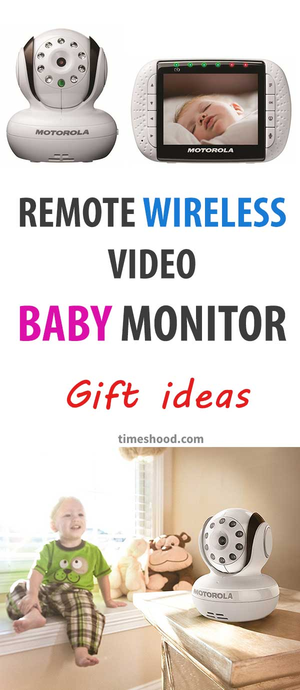 Remote Wireless Video Baby Monitor. Best gift ideas for baby shower. Useful gift items. Gift your brother, friend, boss or any men who becomes a father recently.