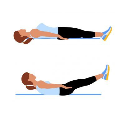 Best Abs Exercise- Hollow baby hold exercise for abs. Try this best abs workout for fast results. Now you can make abs at home without equipment. Abdominal exercise for abs. Best abs exercise.