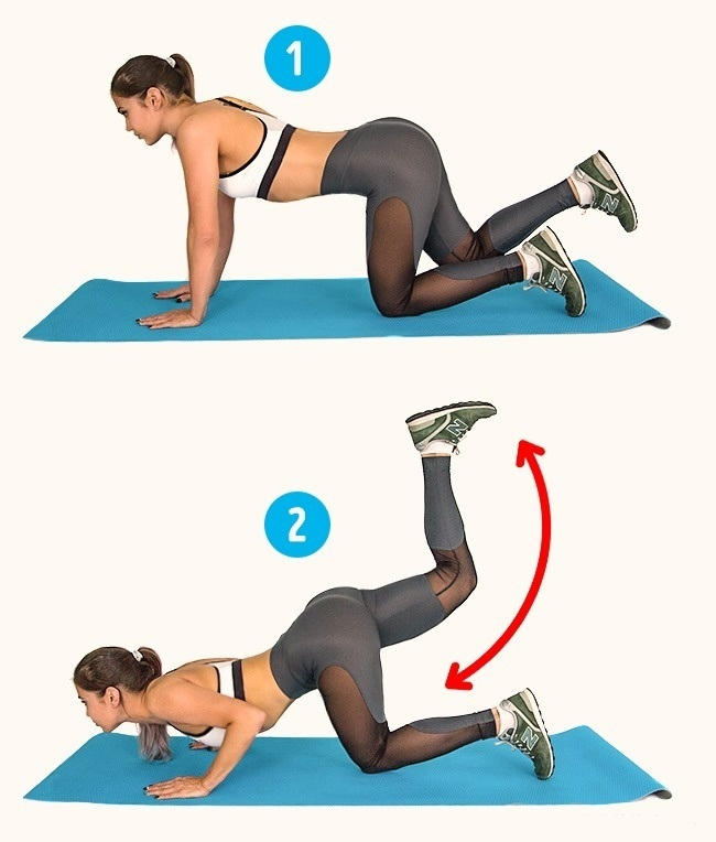 6 Exercise 2 Week Challenge To Get Rid Of Cellulite Timeshood