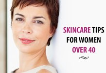 Best skincare tips for women over 40. Basic and simple flawless skincare beauty tips for women of all age. Follow them regularly for anti-aging. Best anti aging tips for women over 40.
