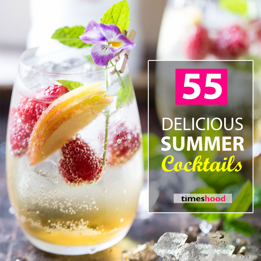50+ Classic & Modern Refreshing Summer Cocktails To Cheer