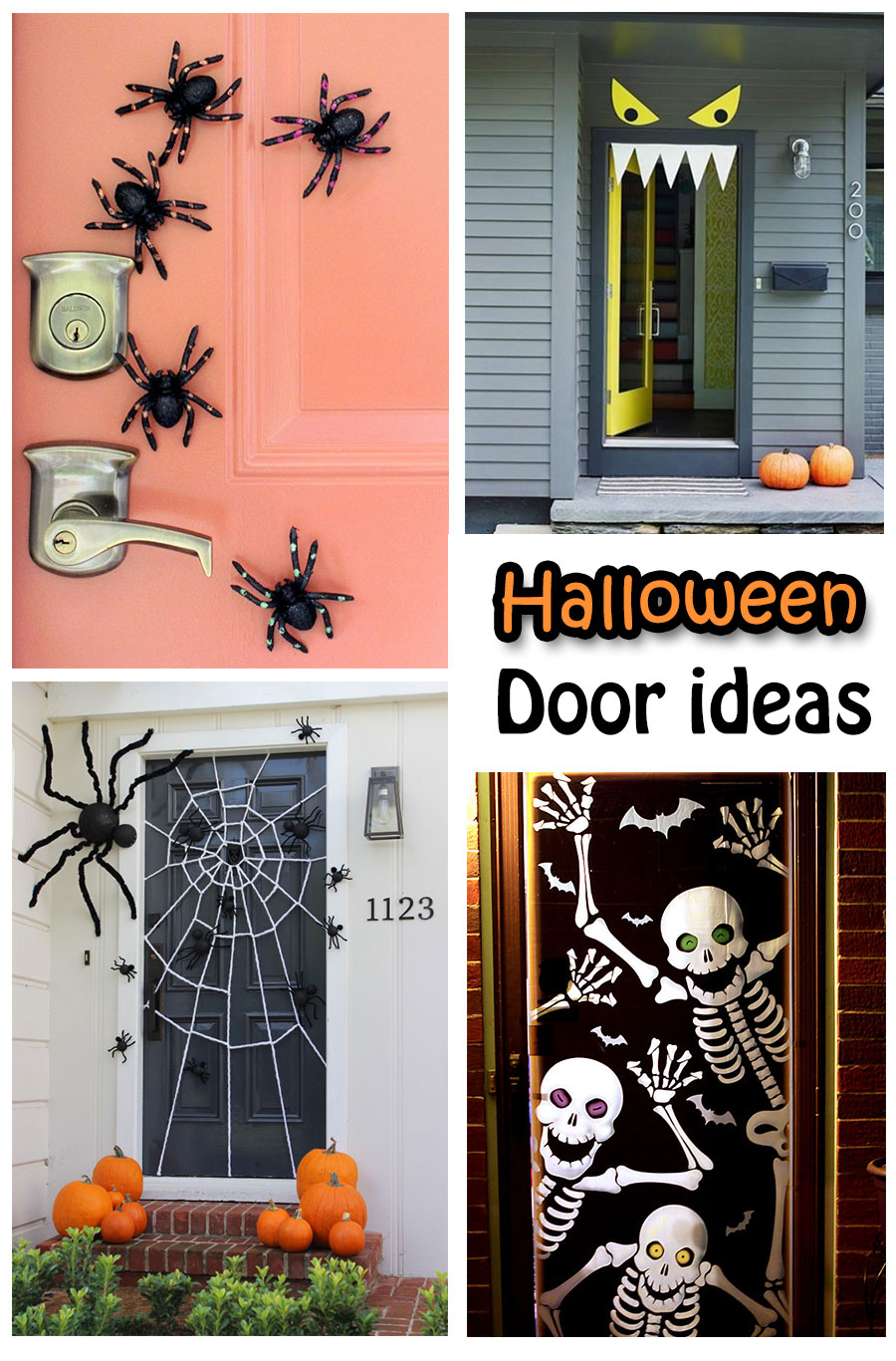 halloween is near these spooky halloween door decorations ideas will help you out to decor