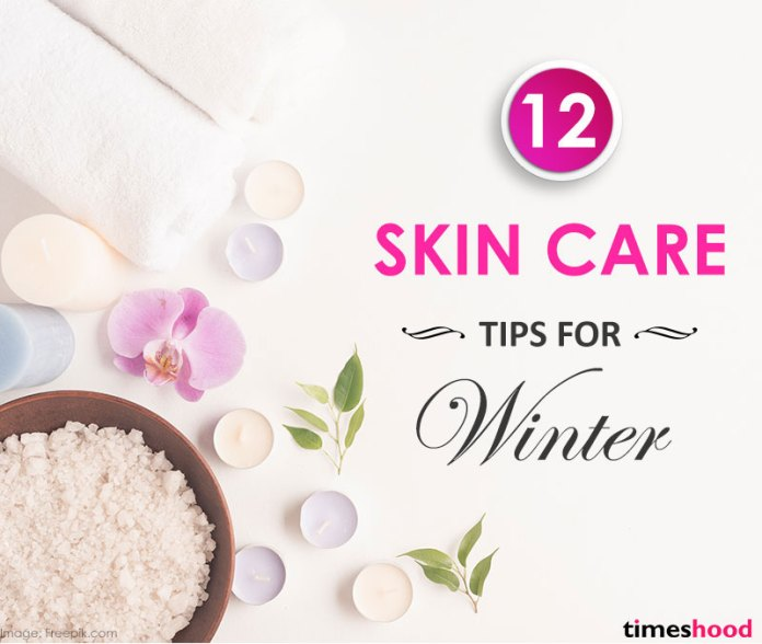 How to take care of your skin in winter? Try these 12 winter skincare tips for women. Dry skin treatment. Winter skincare tips.