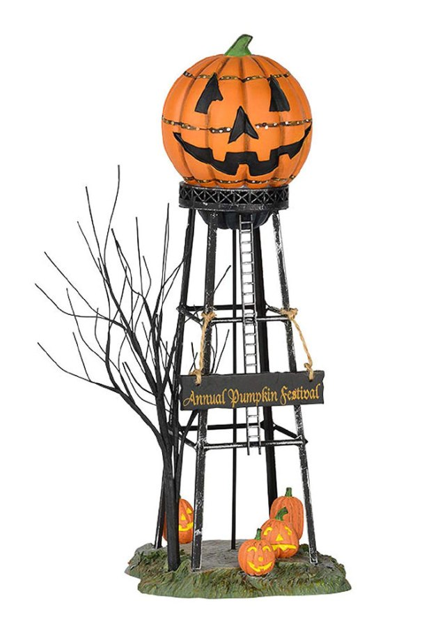 Turn any haunted villages into a spooky with this Halloween water tower. Find 17 more Halloween decorations ideas on Amazon.