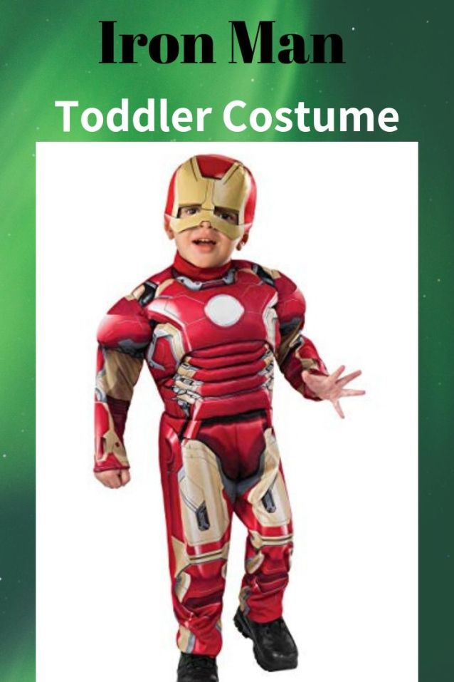 This Avengers Infinity War Iron Man Toddler Costume with Mask is perfect Halloween costume for your little kid. Find 10 more Avenger costumes ideas for kids on Halloween.