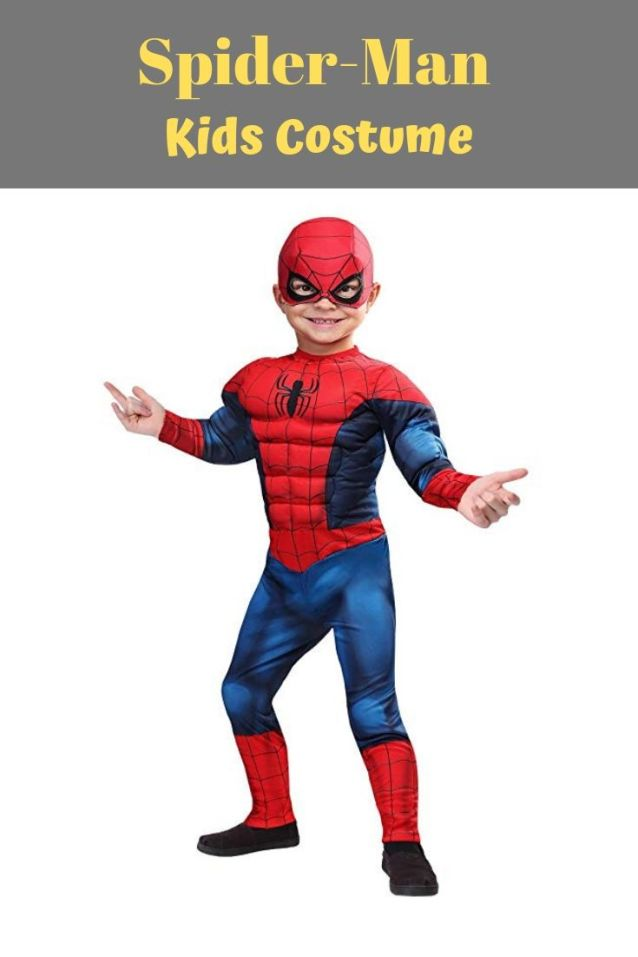 This Spiderman costume has printed design all over the dress and will be super comfortable Halloween costume for your kids. Get 10 more Avengers costume ideas for kids on Halloween.