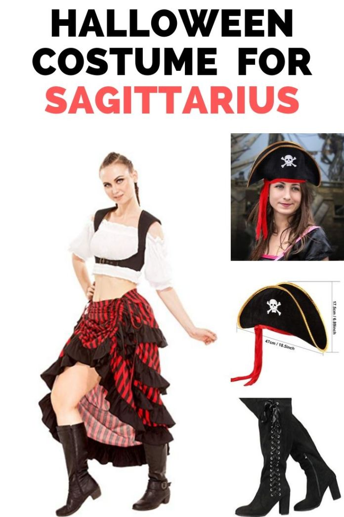 Hey sea robbers Sagittarius!! Get ready to rob the sea in this Sexy pirates costumes. Perfect Halloween costume to show your inner character. Find 12 more Halloween costume ideas for your zodiac sign.