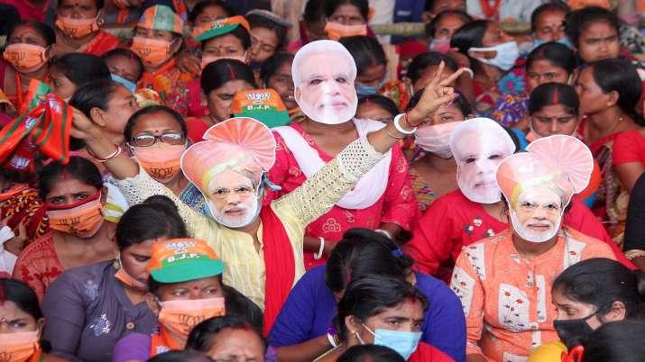 BJP, huge rallies, bengal polls, Bengal rally, Prime Minister Narendra Modi, top leaders, address ra