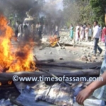 Anti dam protests gets violent - Assam